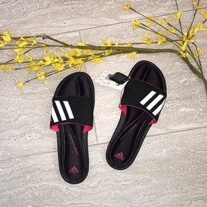 NWT Adidas slide Fitfoam  sandals